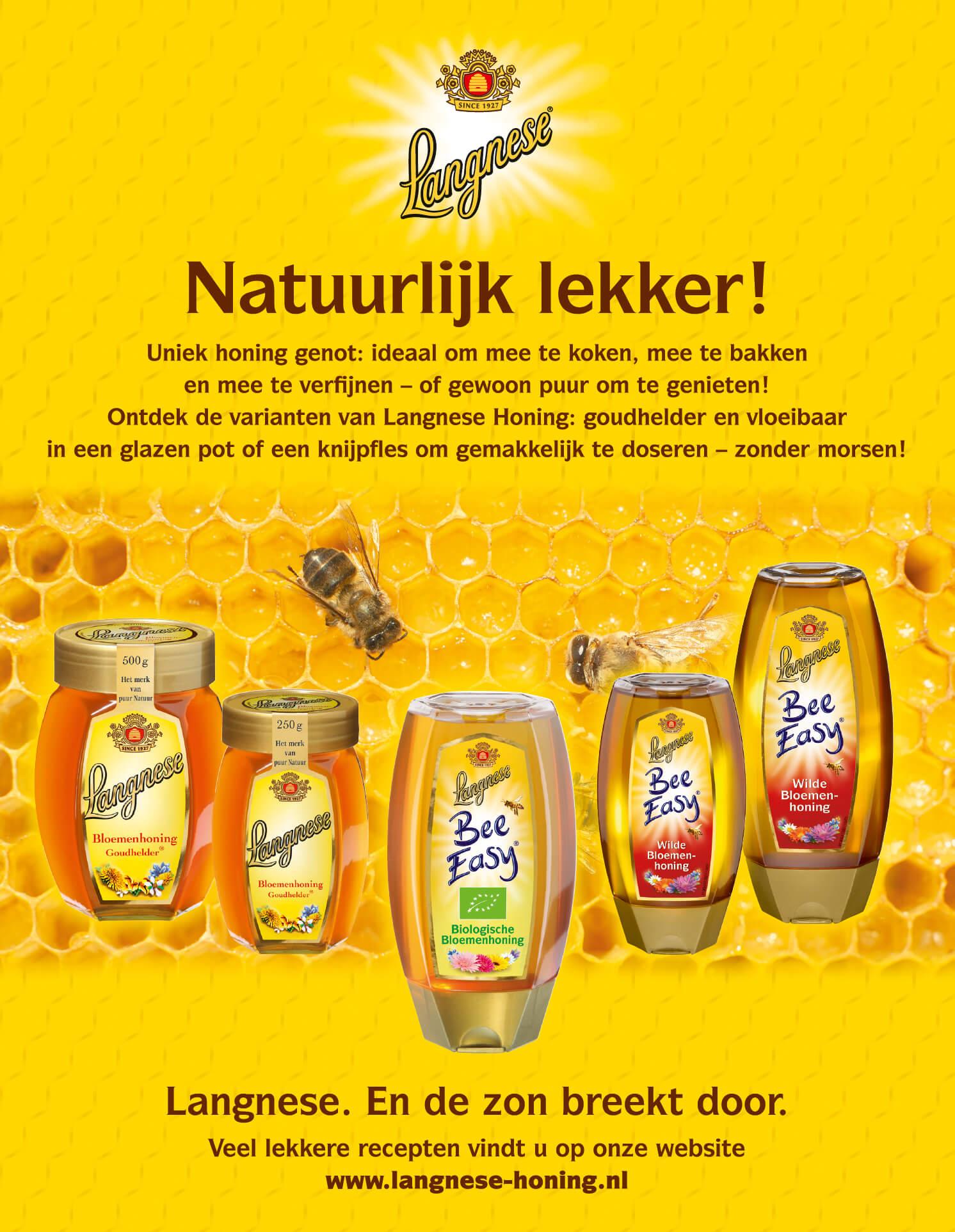 Langnese Honig, niederländische Anzeige