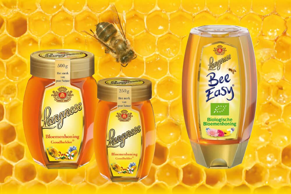Langnese Honig verschiedene Sorten