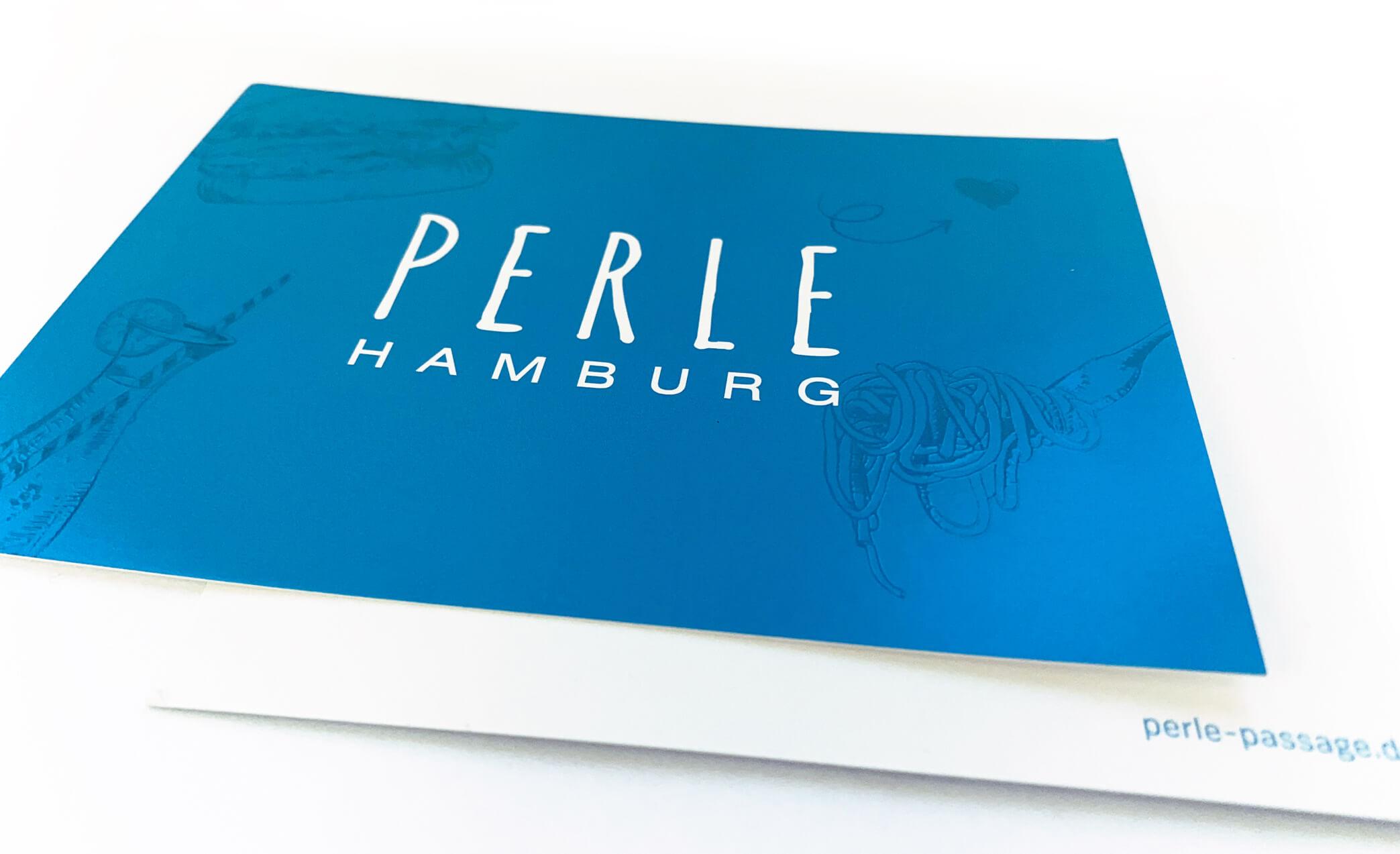 PERLE Hamburg Postkarte