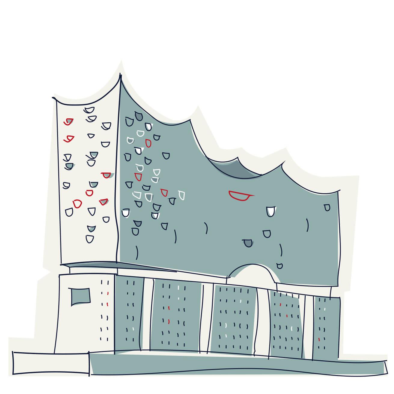 Illustration Elbphilharmonie