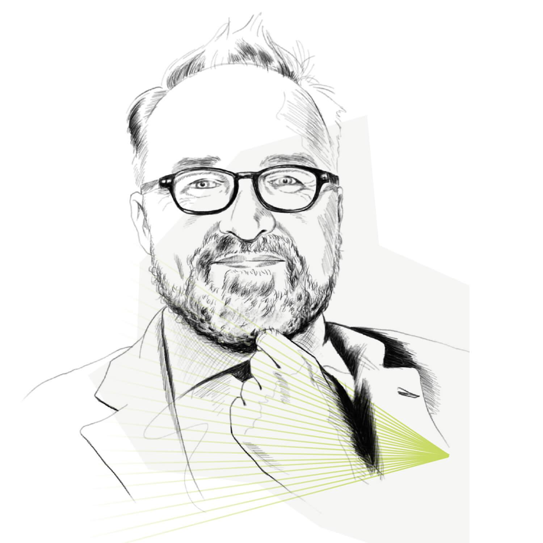 Illustration Portrait Martin Mahn