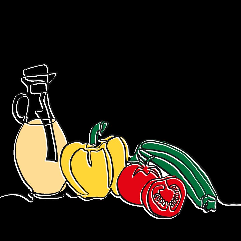Illustration Gemüse