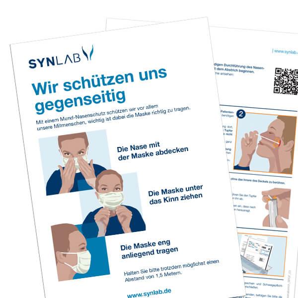 SYNLAB, Anleitungen und Illustrationen